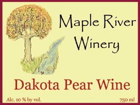 dakota pear label